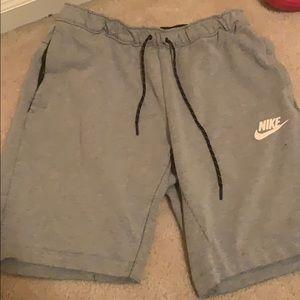 Grey Nike Shorts. Very clean. Worn 5x